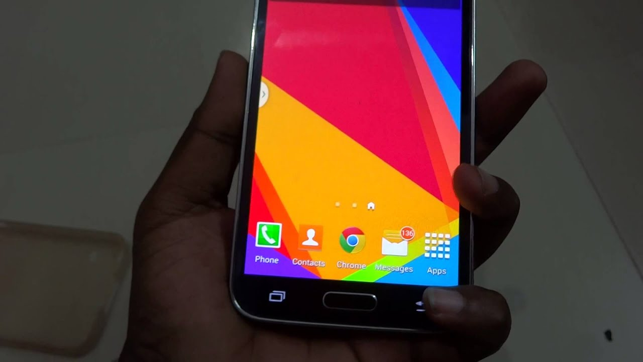 Samsung galaxy s5 unveiled - Samsung Galaxy S5 Electric Blue