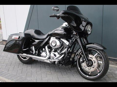 2009 Harley Davidson Street Glide Flhx Black Custom Spec Wchd