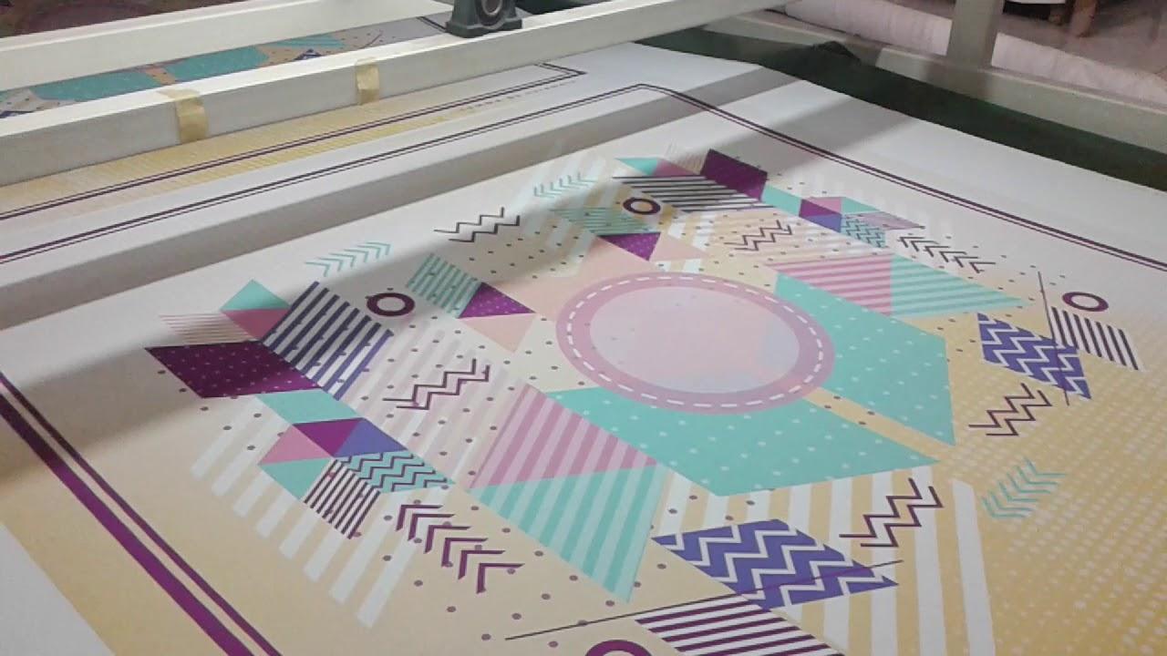 proses pembuatan kerudung