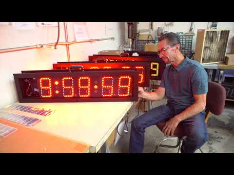 Raceclock By Electro-Numerics: Sports Timing Equipment