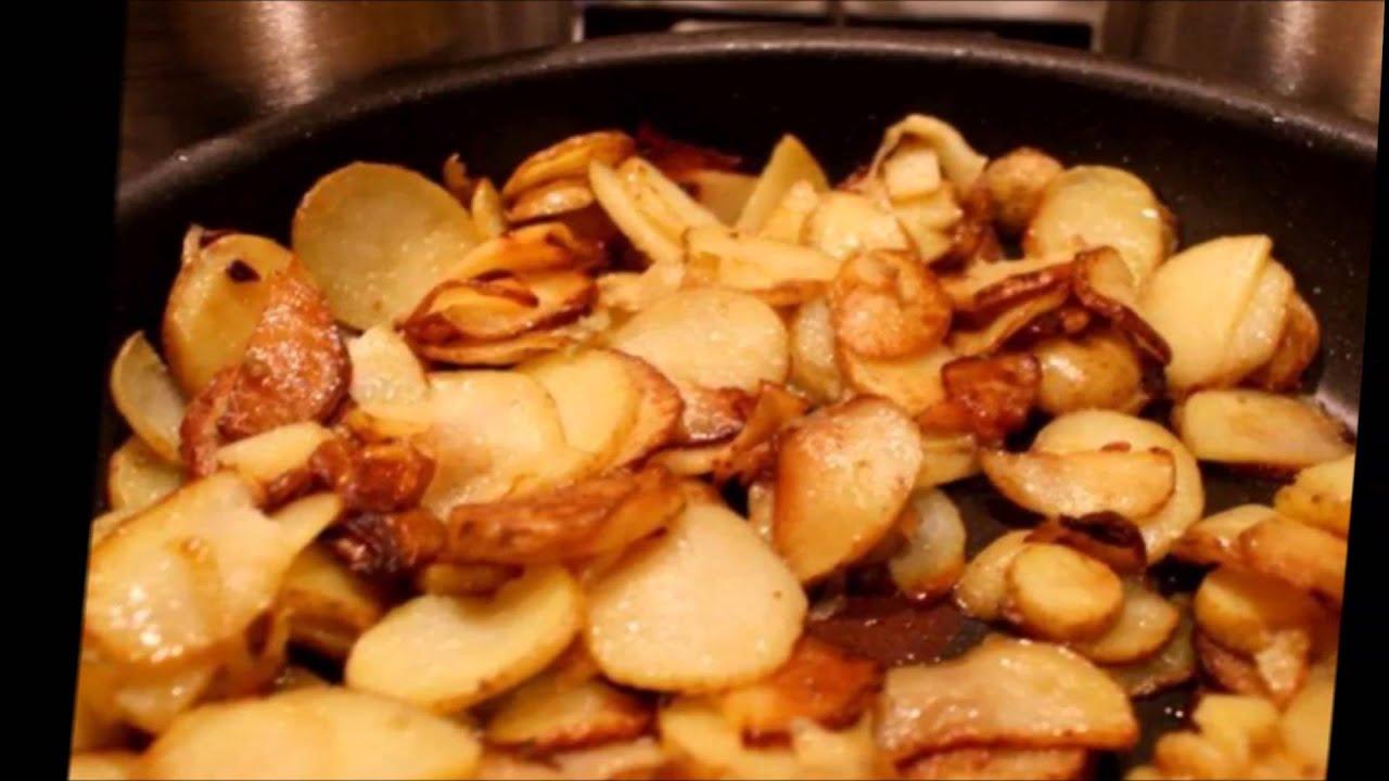 как пожарить картошку с корочкой на сковороде