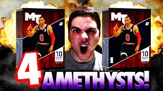 omg 4 crazy pulls from all star mvp packs nba 2k16 myteam