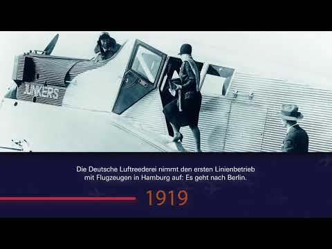 Hamburg Airport Chronik 1911 bis 1939
