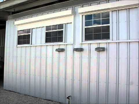 Security Shutters San Antonio - Ranch Motorized Security Shutters for metal building