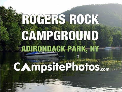 Rogers Rock Campground, Adirondack Park, New York