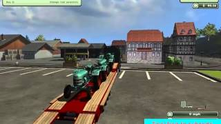 Farming Simulator 2013 Transport mod + scania truck