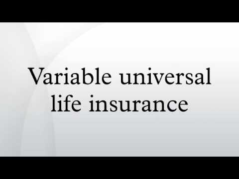 Variable universal life insurance - YouTube
