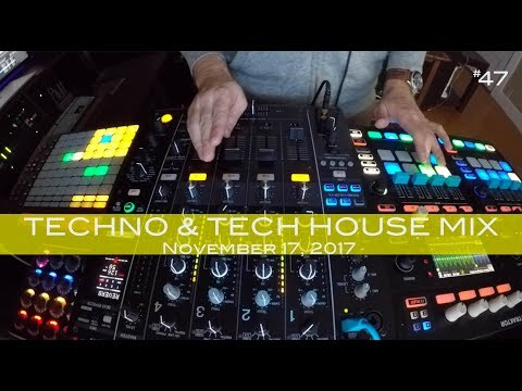 Tech House and Techno Mix Deep Underground House Dance November 21,  2017 60 Minutes