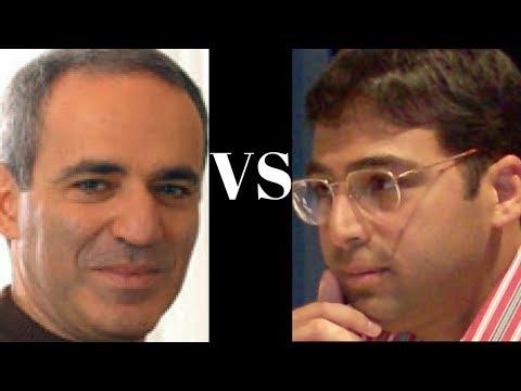 Brilliant Chess game : Kasparov's rotational attack vs Vishy Anand - Tilburg 1991
