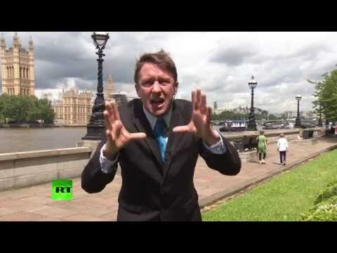 """What's that coming over the hill? The Tories"" - Jonathan Pie"