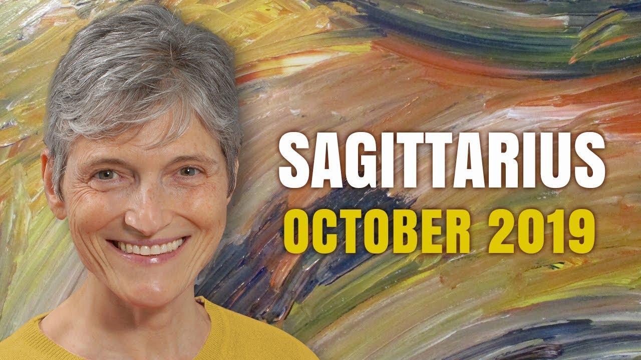 sagittarius astrology tarot horoscope october 2019
