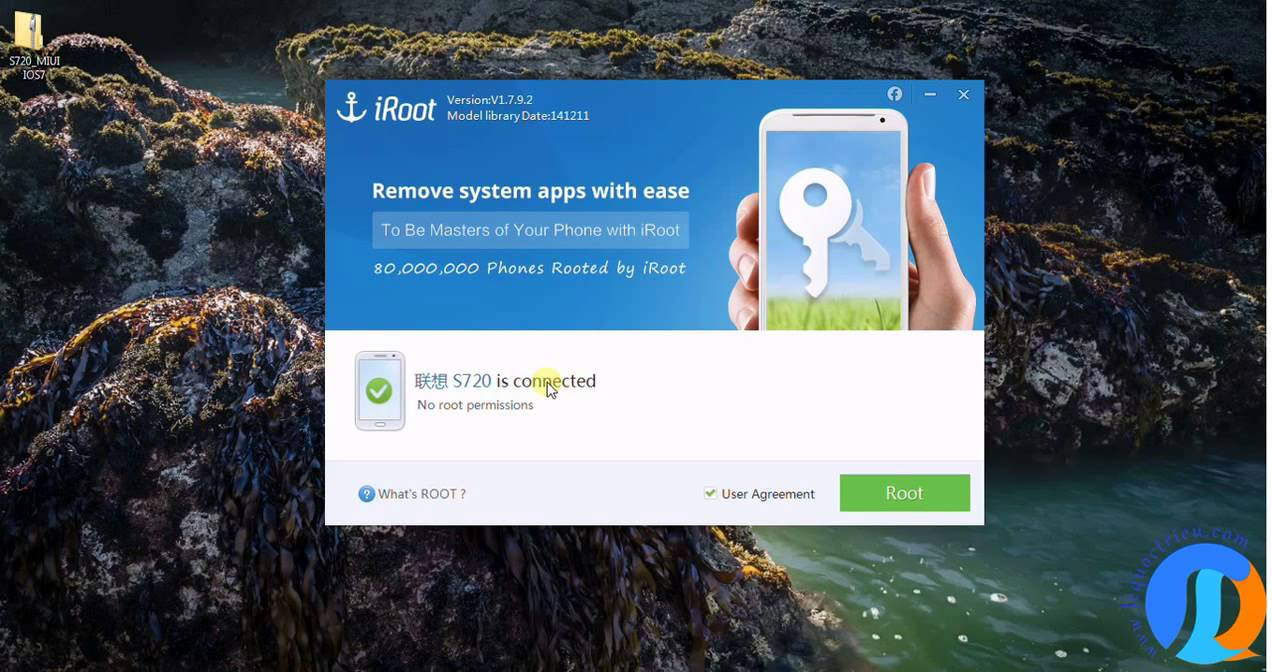 How to use Iroot on PC