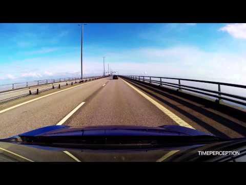 Øresundsbroen (GoPro 3+ on Car) - Copenhagen to Malmö