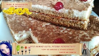 Долгожданный рецепт диетического торта по Дюкану с атаки!! Можно есть тортики и худеть!