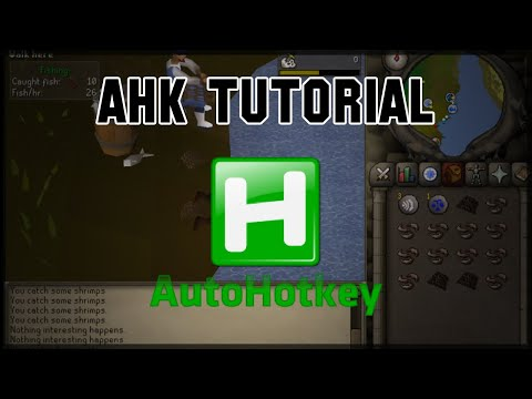 AHK Tutorial - Fishing And Functions Using Pulover's Macro Creator