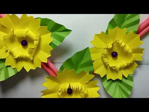 Easy DIY Wall Hanging Idea with Paper || DIY Paper Crafts Projects || Home Decor