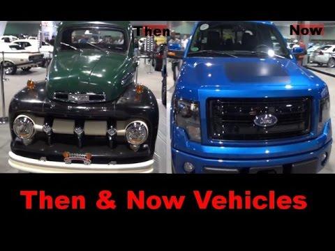 Then & Now Vehicles@ 2013 Atlanta International Auto Show