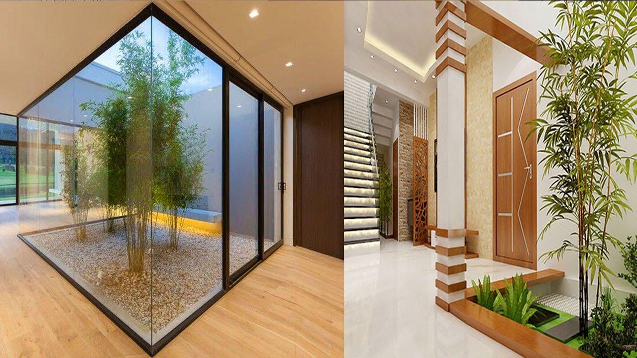 Modern Courtyard House Interior Design Indoor Home Garden Ideas Staircase Courtyard Youtube