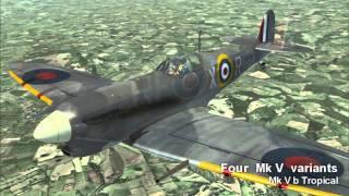 Spitfire Mk V - Legends of Flight Preview