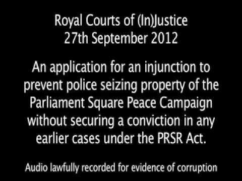 Royal Courts of (In)Justice - 27.09.2012