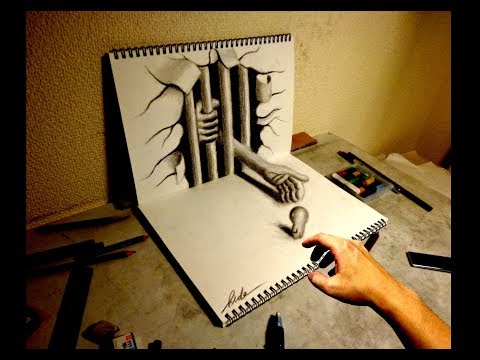 Amazing 3D Art on sketchbook【9】