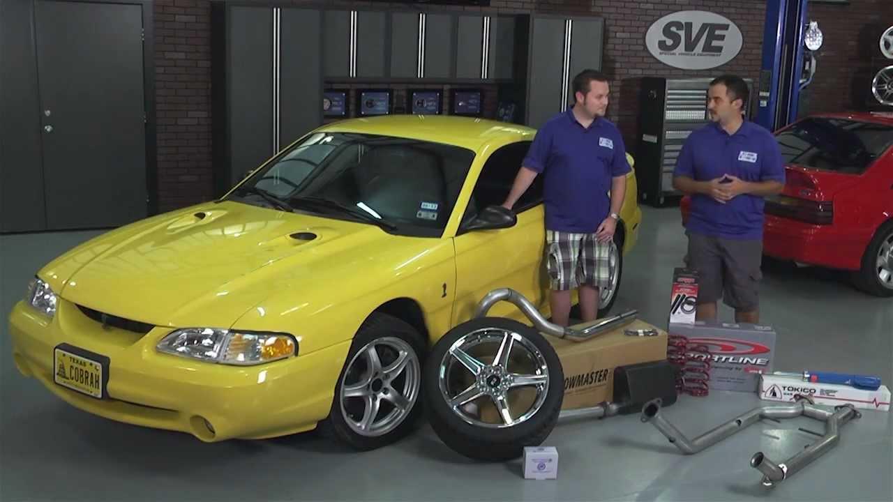 Karson S 98 Chrome Yellow Cobra Mustang Build Bbk J Amp M