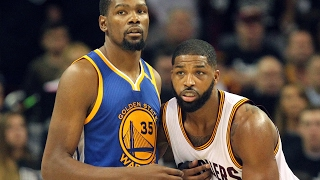 Cavs discuss Tristan Thompson's big night in Game 4 win over Warriors