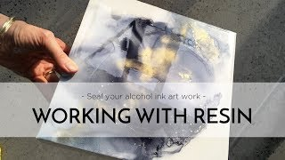 Alcohol Ink Resin Process - From Beginning to End