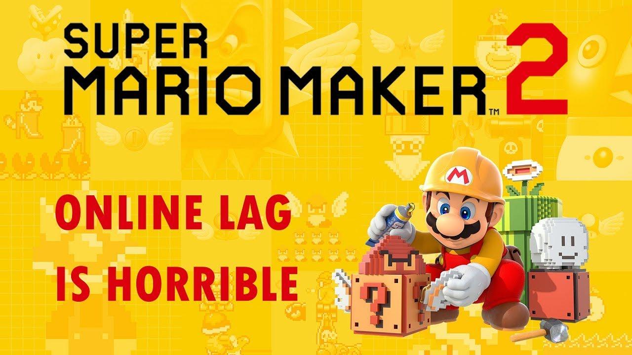 Super Mario Maker 2 Online Multiplayer is BROKEN! (Extreme Lag)