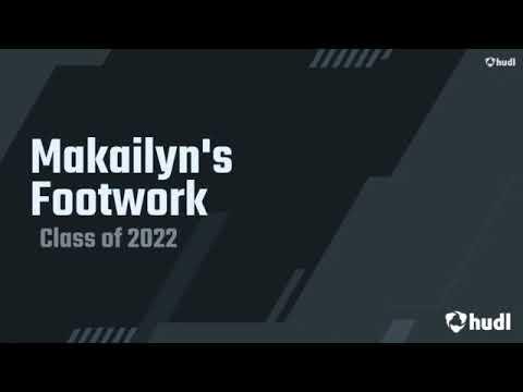 Makailyn Stout-Dukes - Speed Ladder Drills