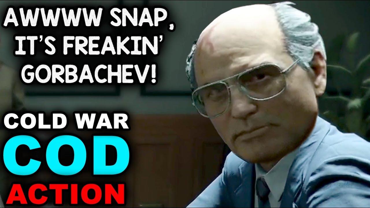 OMG, IT'S DIGITAL GORBACHEV! | Black Ops - Cold War (1080p 60fps)