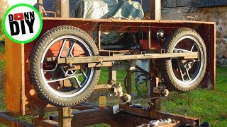 NEW Stronger Alloy Band Wheels, Sawmill Upgrade - Band Sawmill Build #25