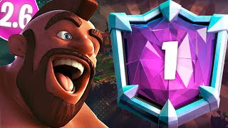 HOG 2.6 ROAD TO TOP #1 - CLASH ROYALE