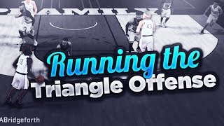 RUNNING THE TRIANGLE OFFENSE ON NBA 2K18