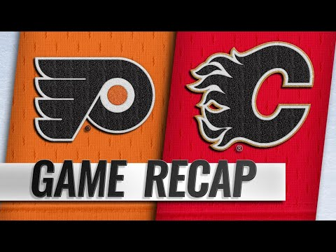 Gaudreau, Flames rally back late to down Flyers in OT