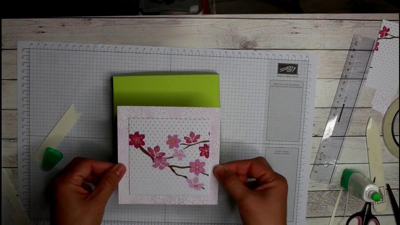 DIY ☆ Schachtel für eine Tafel Schokolade mit Stampin\' Up ...