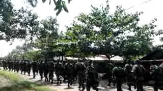 GUNUNG KUPANG PENDIDIKAN CATAM 2012 TNI....