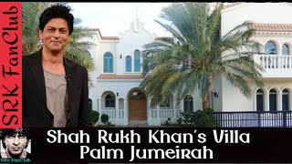 Shah Rukh Khan at his Palm Jumeirah Villa in Dubai - SRK