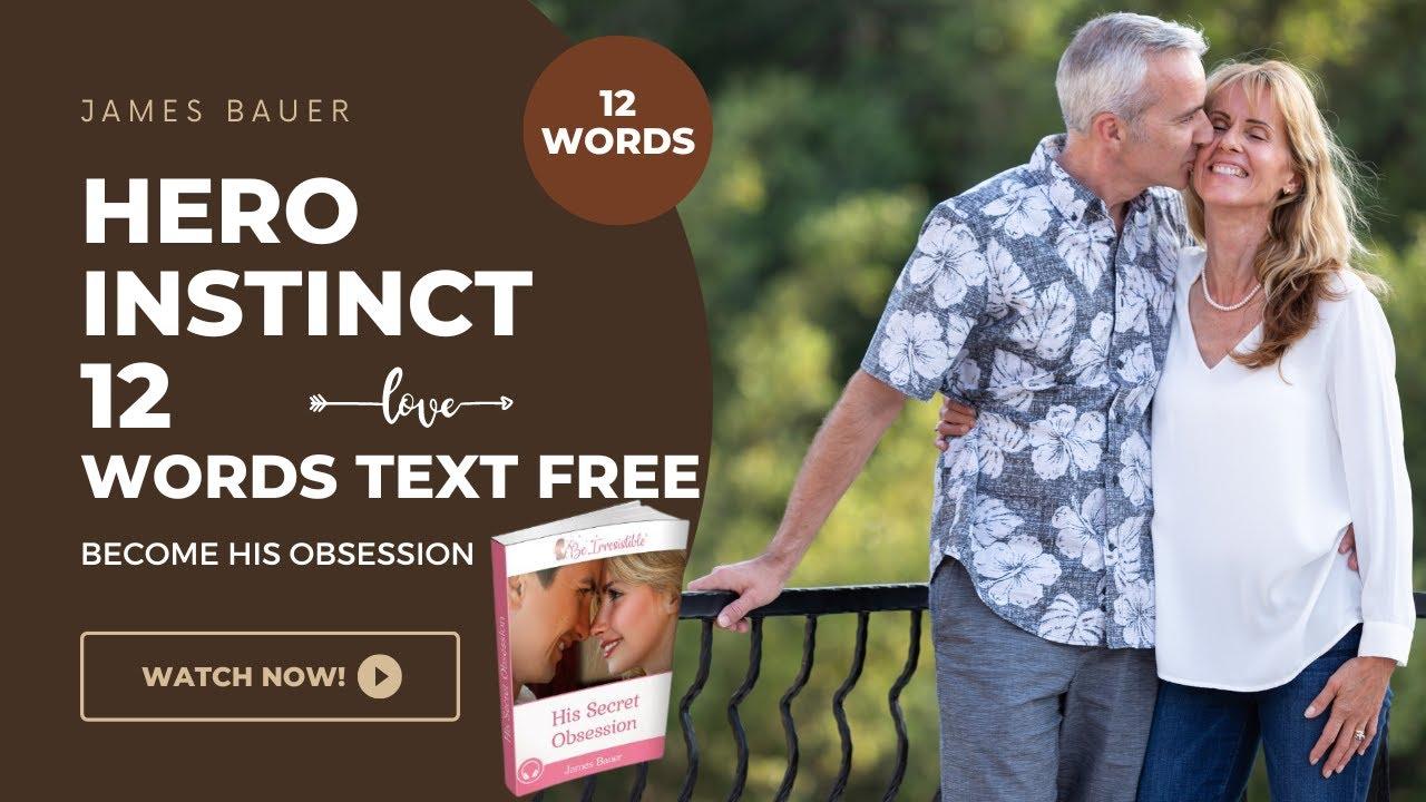 Hero Instinct 12 words text free|| Hero instinct in men