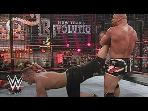 John Cena, Kurt Angle, Shawn Michaels, Kane, Chris Masters & Carlito: New Year's Revolution 2006