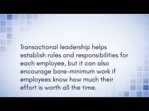leadership-styles---transactional-leadership