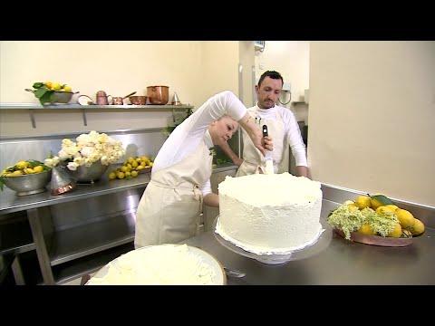 Master baker preps royal wedding cake