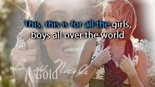 Britt Nicole - Gold [Karaoke/Instrumental]
