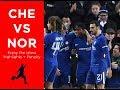 Football Highlights   Che vs Nor   17 01 2018