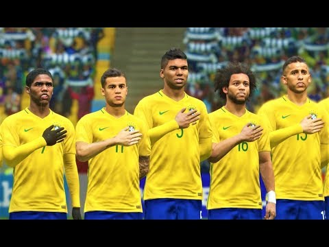 Brazil vs France 2018 | Neymar 4 Goals & Full Match | PES 2018 Gameplay HD