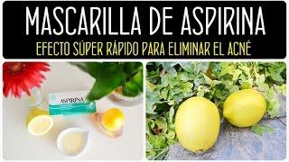 Como Aclarar el Rostro con Aspirinas!!! / Get Rid of Brown Spots with Aspirins