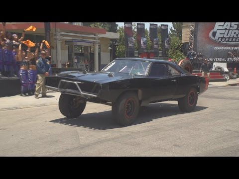 Fast and Furious Supercharged Grand  and RideThrough at Universal Studios Hollywood