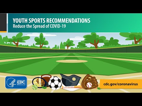 Youth Sports Video: Quick Tips to Protect Players from COVID-19 (30 seconds)