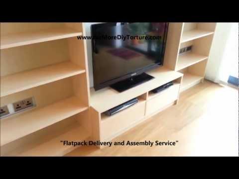IKEA Billy Benno TV Stand with Storage v2
