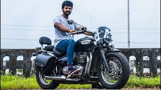 Triumph Bonneville Speedmaster Review - More Practical Bobber | Faisal Khan